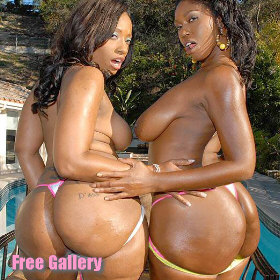 Big Booty Black Babes Cherokee and Delotta