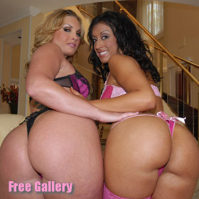 Ricki White and Flower Tucci assfucked